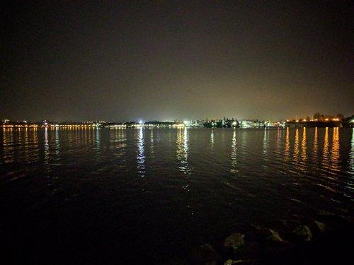 Peschiera di notte dai Cappuccini