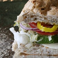 We believe this is the best Veggie Sandwich in town - Come in and try one!