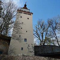 "Below Gigel Tower (""Gigelturm"")."
