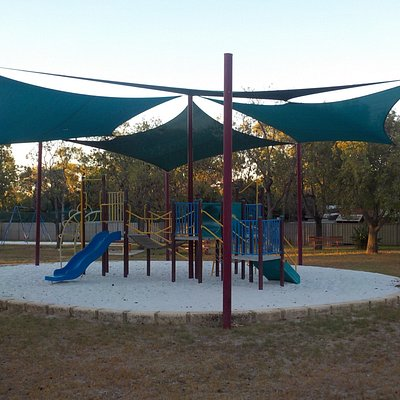Sheltered playground