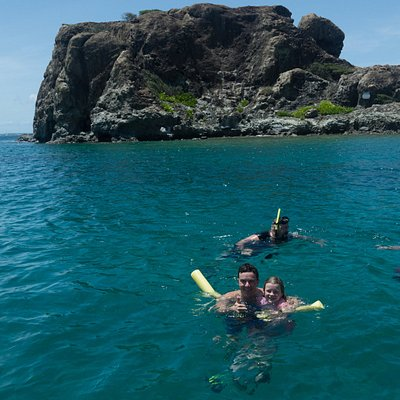 Snorkeling at Creole Rock.  More happy customers!