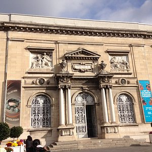 Frontal view of the museum