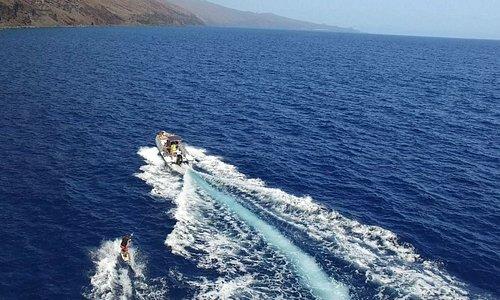 Paseos en Barco y buceo con el Bajón