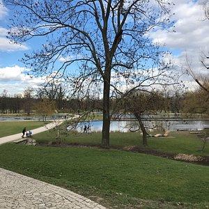 Superbe parc immense