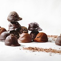 Our chocolate truffles come in a variety of flavors and intensities.