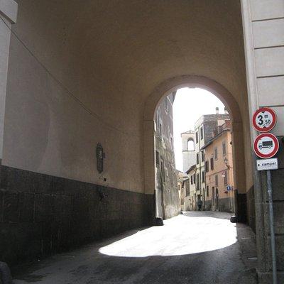 Porta Morone - interno