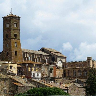 particolare della cattedrale vista dalla torre