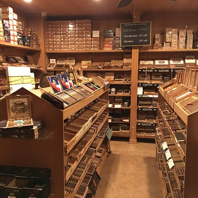 Largest humidor in RI