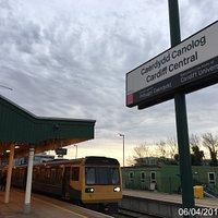 Cardiff Central Railway Station