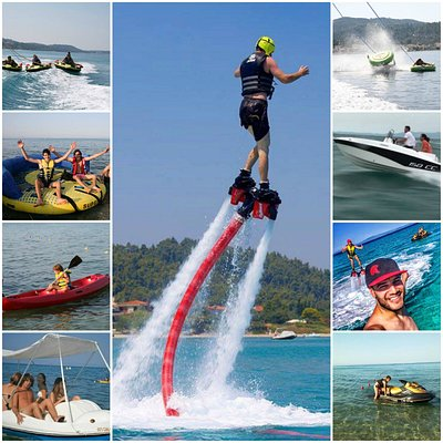 Rent our boats or make water sports in Waveriders - Polycrono Chalkidiki!