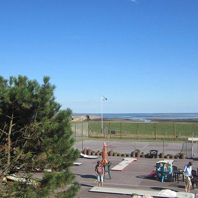 Tennis Court & Mini-golf Cousre in Rantum North,Sylt.