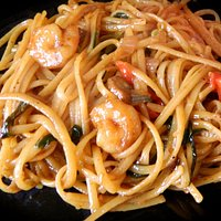 Yummy Shrimp Lo Mein at China Panda Restaurant: LOVE THIS PLACE! Fast Friendly Service