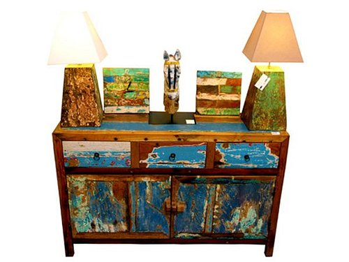 Authentic Indonesian Boatwood Furniture