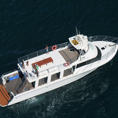 Latitude 22, the most immaculate vessel on the Ningaloo Reef