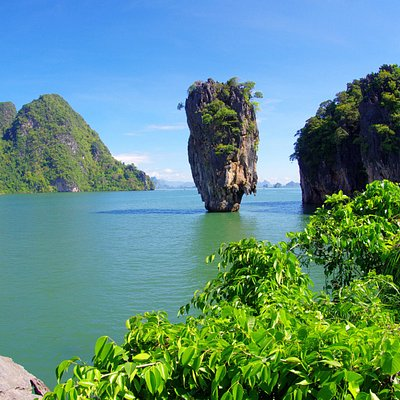 The famous James Bond Island!