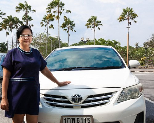 Miss Milk, lady cab driver for Nam Taxi Service