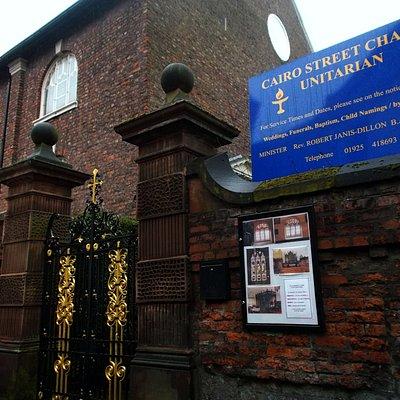 Cairo Street Unitarian Chapel, Warrington