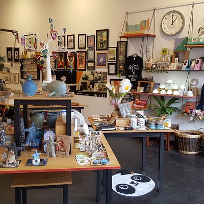 The vast majority of our stock is produced by small, independent artists, makers and craftspeopl