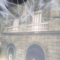 Creepy webs on the walls