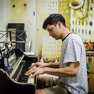 Studying piano at Havana Music School