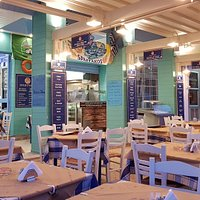 Spartakos New look 2018 The best seafood restaurant in Zante town.