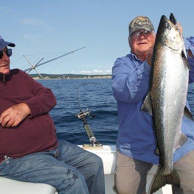 Big King salmon in Frankfort
