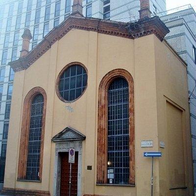 Attuale chiesa dei Ss. Sergio, Serafino e Vincenzo