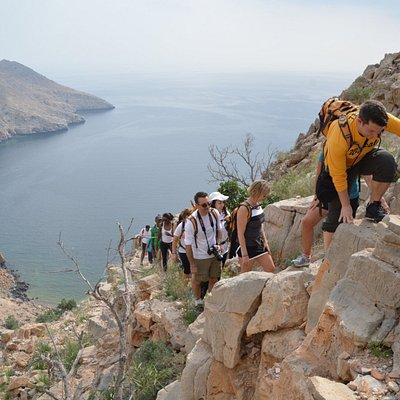 Climbing - Aqaba-Lima Trek