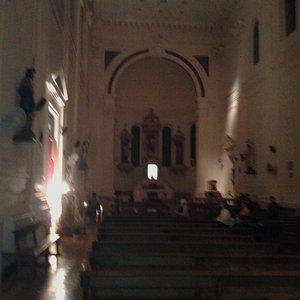 Parroquia San Francisco Javier: Vista del Altar- Palermo- Bs.As. 2018.