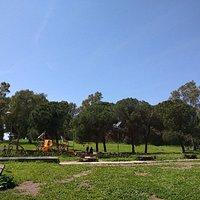 Parco giochi nel parco di Forte Ardeatno