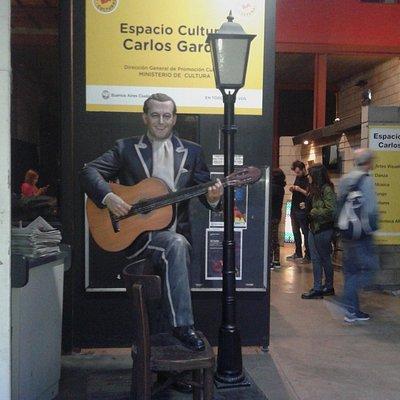Espacio Cultural Carlos Gardel: Ingreso- Chacarita- Bs.As. 2018.