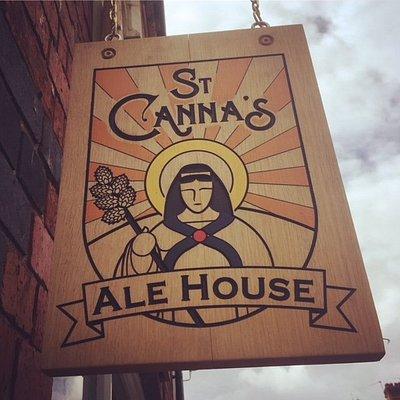 The St Canna's Sign!