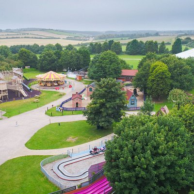 Ariel view of the new Major Oak