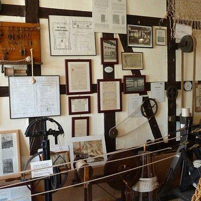 Seilermuseum - nehmen Sie an einer Führung vom alten Seilermeister teil