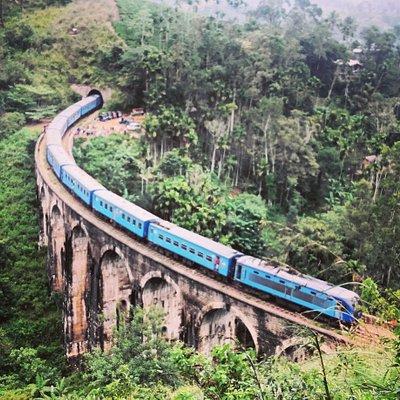 Nine#archbridge#demodara#ella#srilanka#tour#travel#truesrilanka#srilanka
