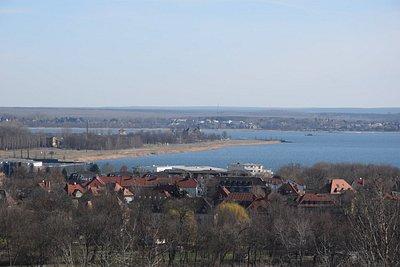 Blick auf den Goitzsche-See