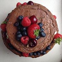 Brownie cake!