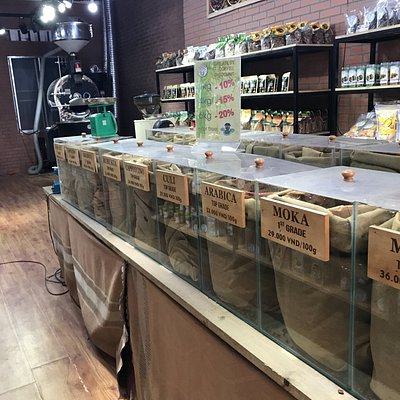 Coffee tea candy shop