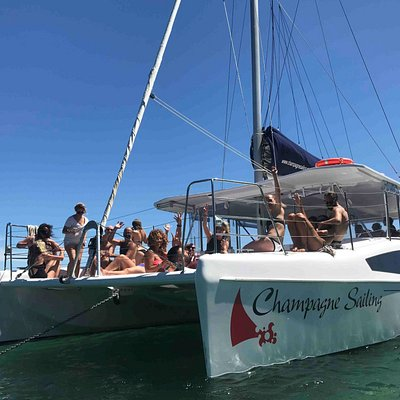 Champagne Sailing brand new catamaran for up to 43 people!