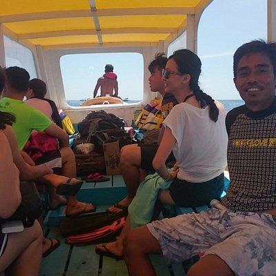 Snorkeling trip to Gili Air, Gili Meno and Gili Trawangan with Singapore group.