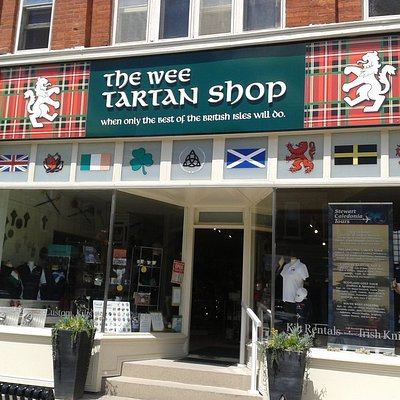 Welcome to the Wee Tartan Shop, located in picturesque downtown Port Perry, Ontario.