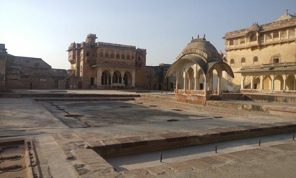 Inside Nagaur Fort