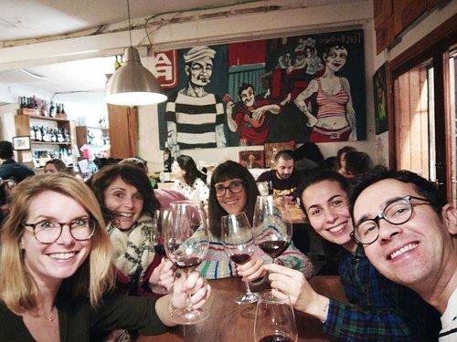 Group wine tasting experience