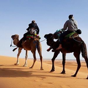 Despedida de las grandes dunas