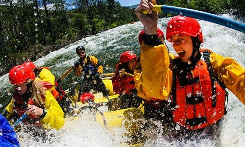 White water rafting on Tara river