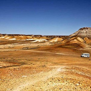 See the amazing landscape surrounding Coober Pedy