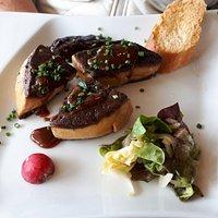 Foie gras chaud