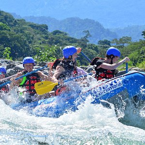 Rapid class IV Sarapiquí river