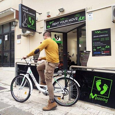 Rent Bike - Noleggio bici MOOOVING, via Cavour 148, Noto (sr)