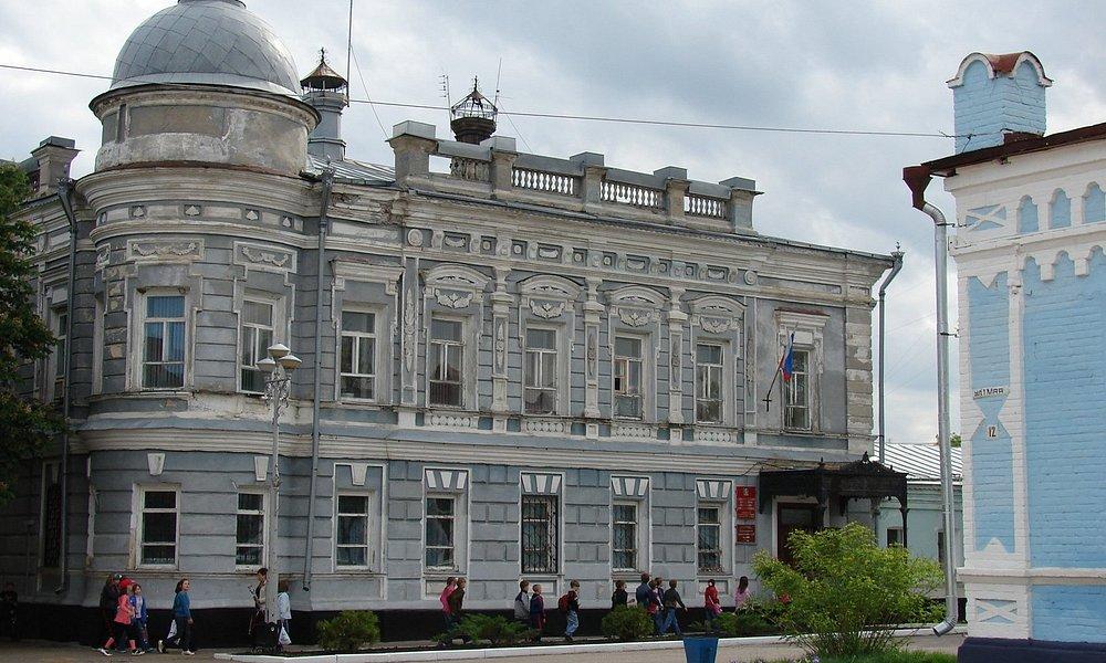 Дом купца Одинцова в Павловске.